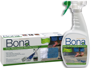 lifetime floors recommends bona laminate cleaners for your laminate floor